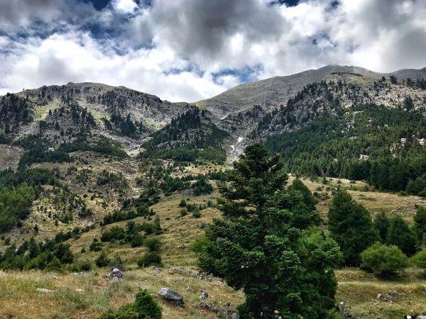 Hike To Agia Kiriaki Peak